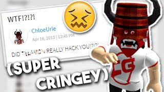 ROBLOX READING OLD MESSAGES!!! (cringe warning)