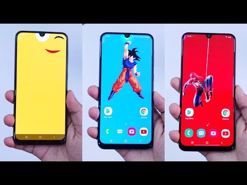 Don't Miss These Cool Notch Wallpapers For Samsung Galaxy A50, A50s, A70, M30s And More