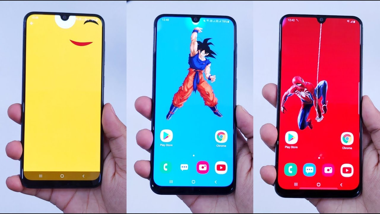 Don T Miss These Cool Notch Wallpapers For Samsung Galaxy A50 A50s A70 M30s And More Youtube