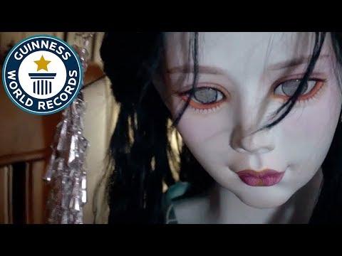 Largest porcelain doll – Guinness World Records