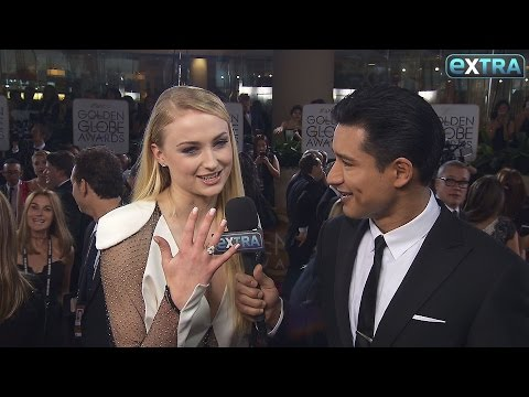 Sophie Turner Plays Coy Over Joe Jonas Relationship at the Golden Globes