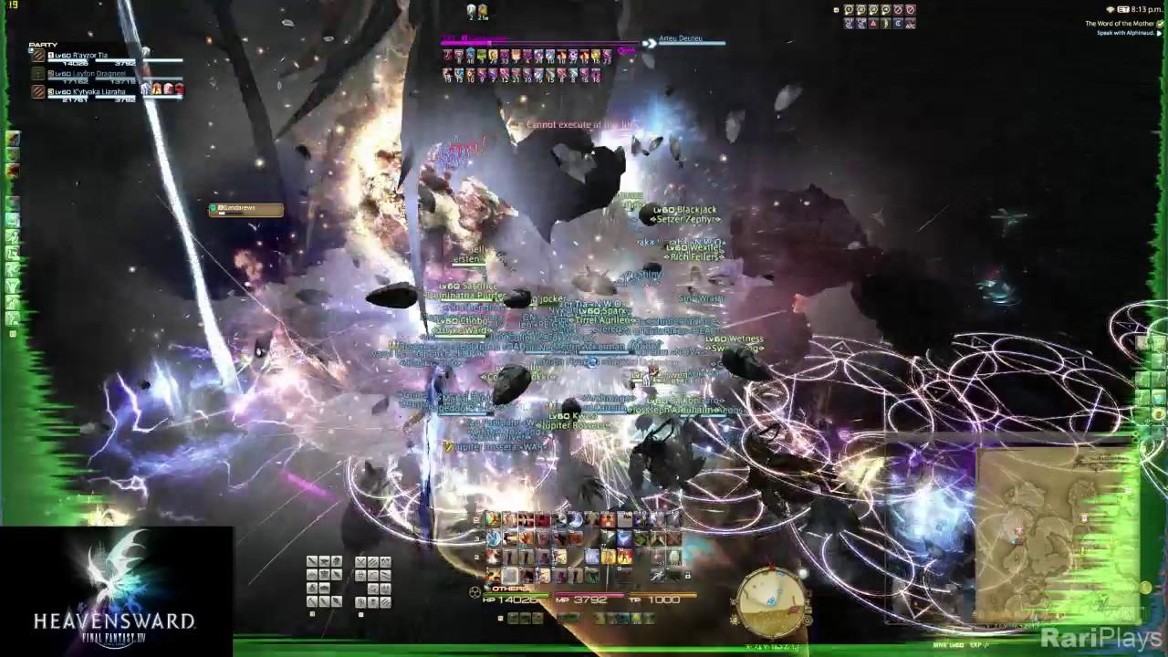 RariPlays:FFXIV Heavensward - Gandarewa Rank S Elite Mark