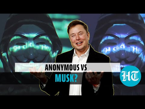 Elon Musk threatened on video by 'Anonymous' over Tesla, Bitcoin, Mars plan