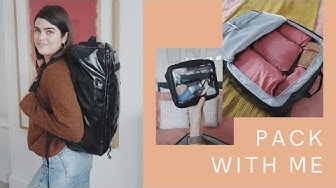 Pack With Me: One 10kg Backpack For Two Weeks Away | The Anna Edit