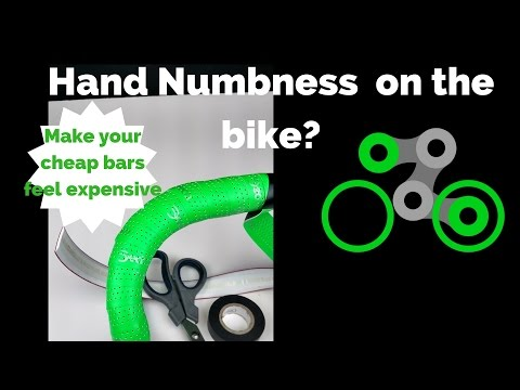 Hands Numb Cycling? Make your cheap bars feel expensive with this cheap tip
