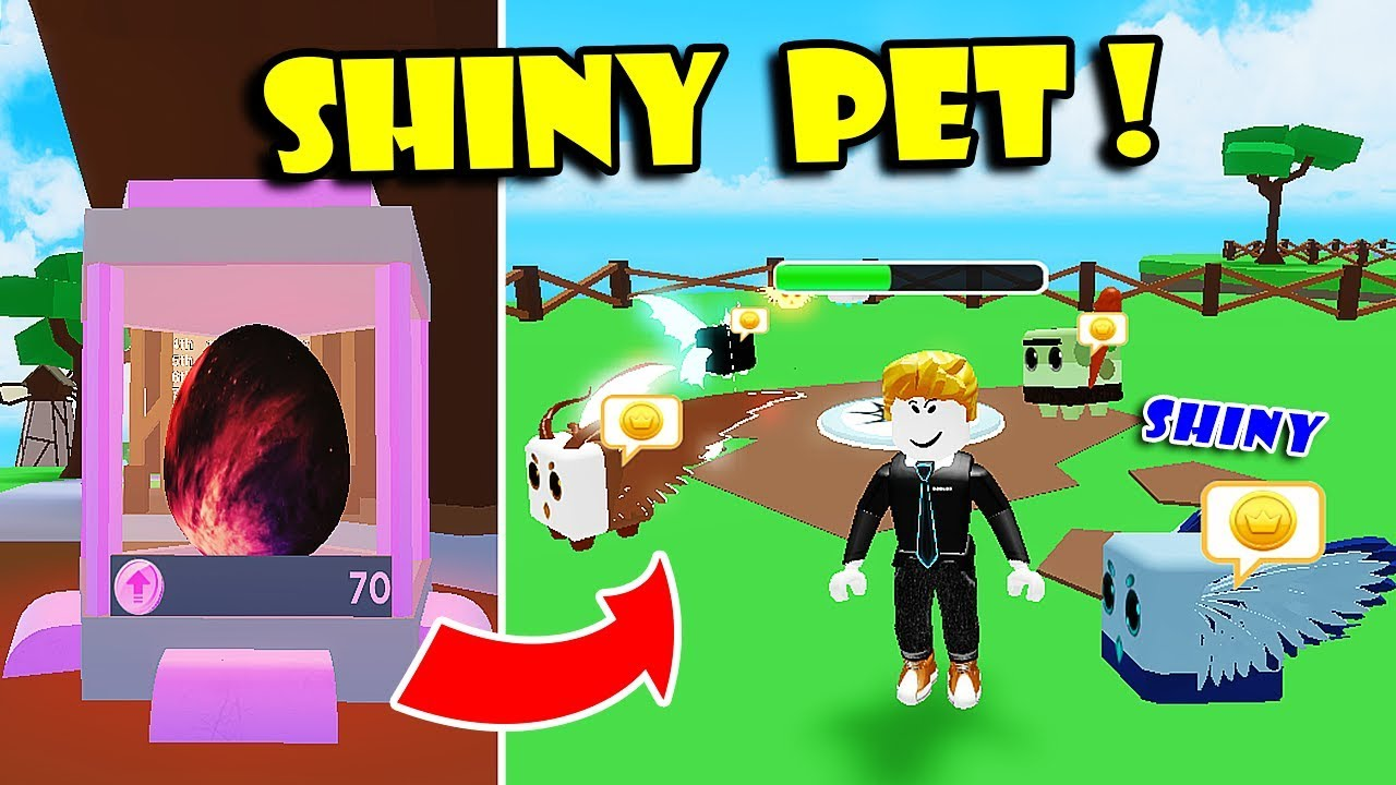 *NEW* SHINY UPDATE & MAKE TONS OF SHINY PETS IN PET RANCH SIMULATOR UPDATE!! [Roblox]