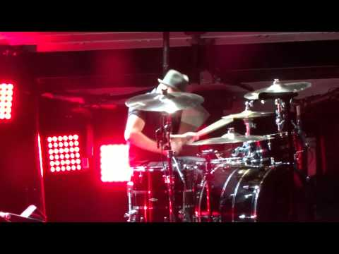 Fall Out Boy - Andy and Patrick drum off (Live in Irvine 8-16-14)