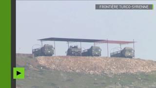 Des systèmes de missiles déployés à la frontière turco-syrienne
