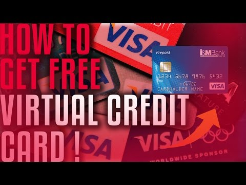 DOES IT WORK?!How To Get A  FREE Virtual Credit Card ?