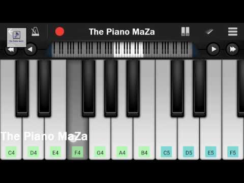 Mere Hath Mein Tera Hath Ho | Piano Notes...