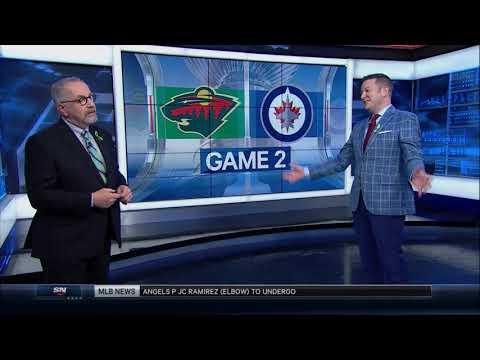 NHL Playoff Highlights Minnesota Wild vs Winnipeg Jets Game 2 April 13th, 2018