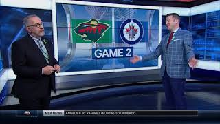 NHL Playoff Highlights Minnesota Wild vs Winnipeg Jets Game 2 April 13th, 2018
