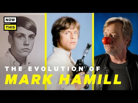 The Evolution of Mark Hamill  NowThis Nerd
