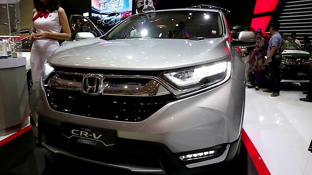 Honda New Cr V Turbo Prestige 2018 Exterior And Interior Youtube