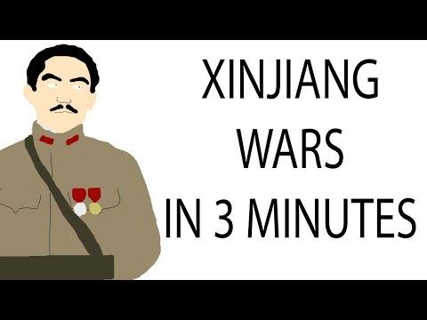 Xinjiang Wars | 3 Minute History