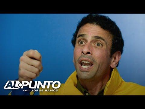 Henrique Capriles dice por qué considera que Venezuela ha entrado en una