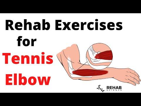 Tennis Elbow Rehab