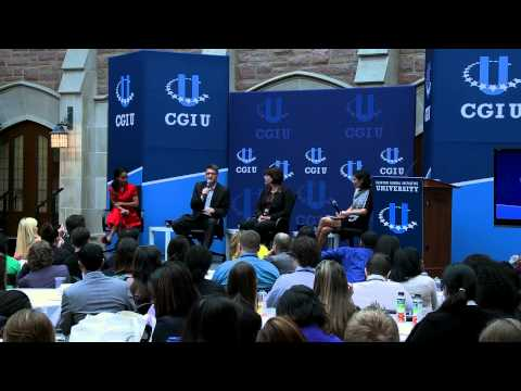 Modern Day Slavery Discussion Panel - CGI U 2013