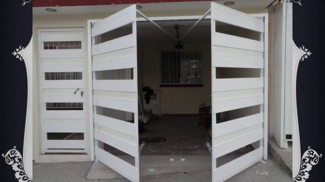 Portones de aluminio xalapa youtube for Casas modernas con puertas antiguas