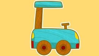 Car Toons: Smart. Fahrzeuge für Kinder in einem Auto Cartoon