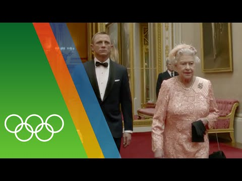 James Bond  London 2012  Ceremony  Epic Olympic Moments