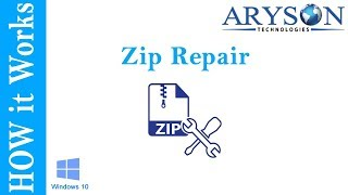 How to Repair Corrupt or Damaged ZIP Files using Aryson ZIP Recovery