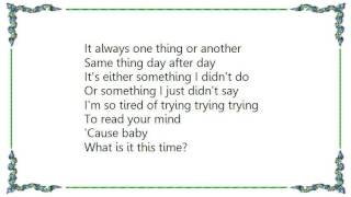 Jamie Lidell - What Is It This Time Lyrics