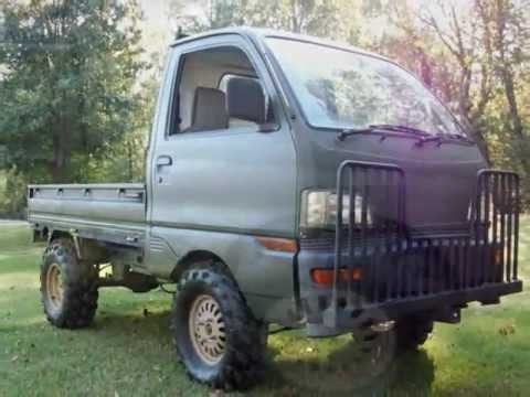 4x4 mitsubishi mini cab youtube