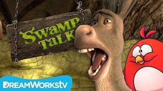 Angry Birds In Far Far Away | SWAMP TALK WITH SHREK AND DONKEY