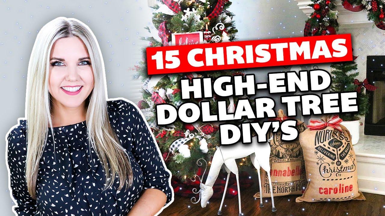 Download 15 HIGH-END CHRISTMAS DOLLAR TREE DIY's🎄 2021!!!