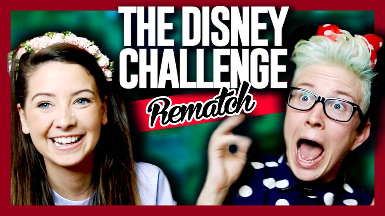 The Disney Challenge REMATCH (ft. Zoella)