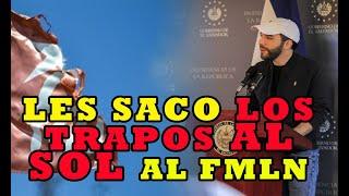 DISCURSO INCOMODO DEL PRESIDENTE para el FMLN