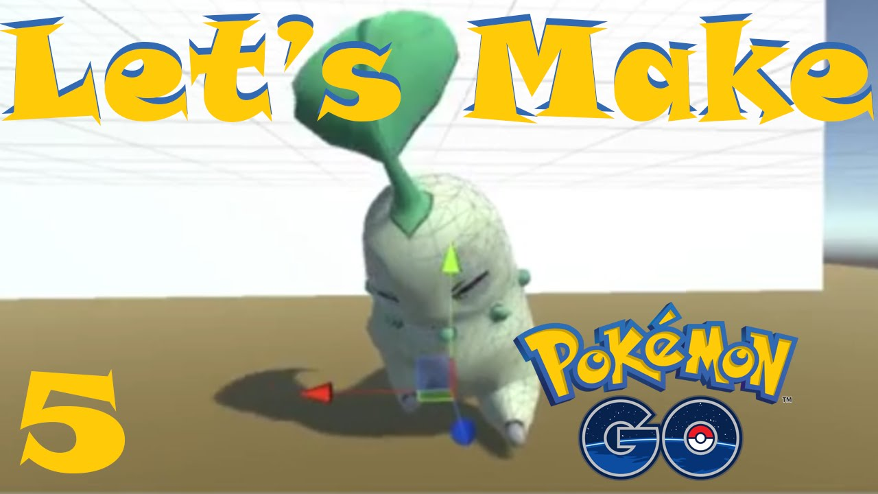 make game like pokemon go