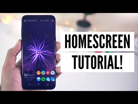 Homescreen Setup Tutorial! [Step By Step]