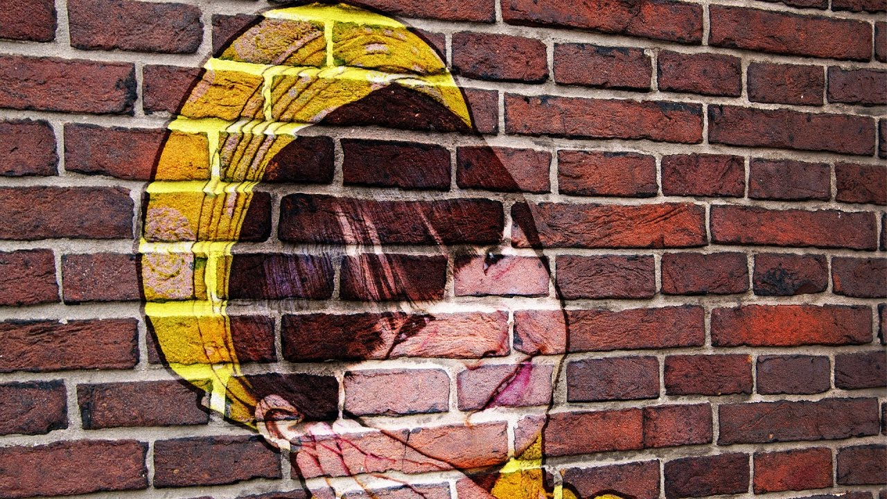 How to create brick wall portrait in gimp photoshop alternative 54