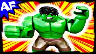 Hulk's Helicarrier Breakout 6868 Lego Marvel Superheroes Avengers Animated Short & Building Review