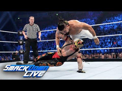 "HINDI - Rey Mysterio vs. Andrade ""Cien"" Almas: SmackDown LIVE, 6 November, 2018"