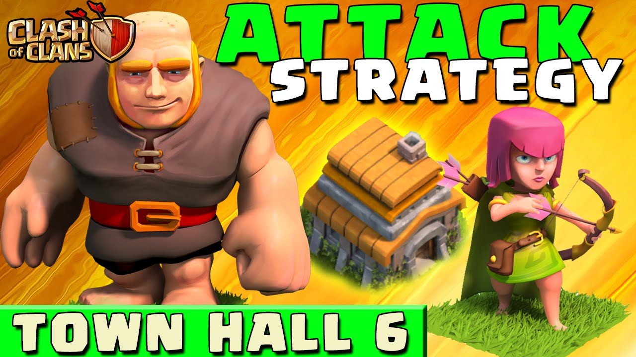 Clash Of Clans Best Strategy Townhall Level  Coc Th Strategies Youtube