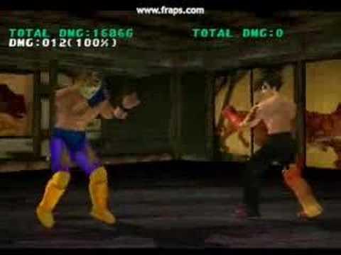 Llaves de King - Tekken 3