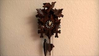 Vintage Authentic Black Forest Cuckoo Clock - West Germany