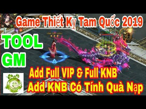 Web Game Private Thiết Kỵ Tam Quốc | TOOL GM Add Full VIP – Full KNB + Add KNB Có Tính Quà Nạp Event