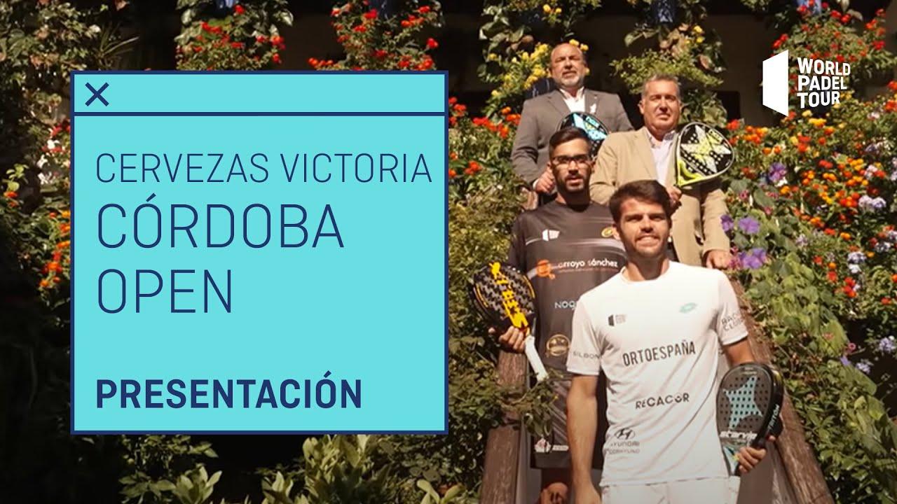 Presentación Oficial Cervezas Victoria Córdoba Open