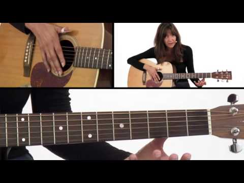 How to Play C, G, & D7 Chords - Beginner Guitar Lesson - Susan Mazer