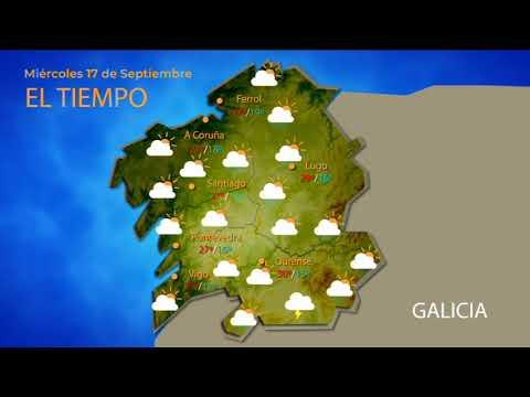El tiempo en Ourense para el 18 de septiembre