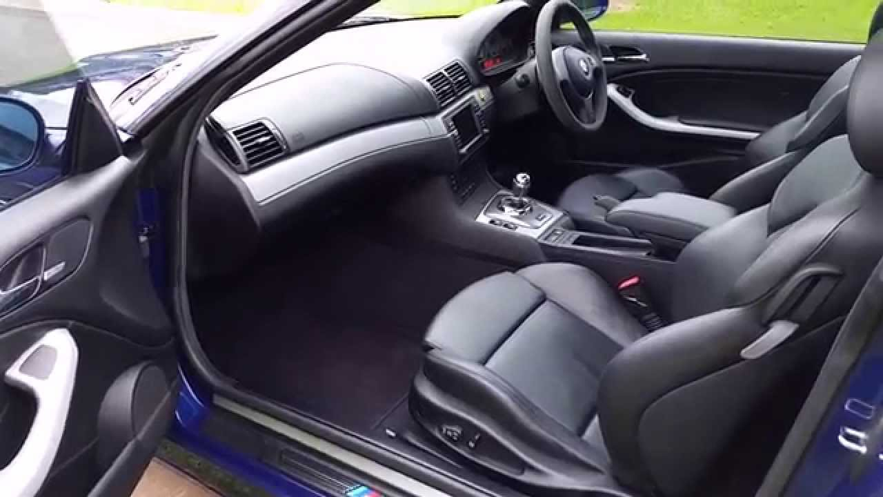 Rare 2005 Bmw E46 M3 Cs Interior
