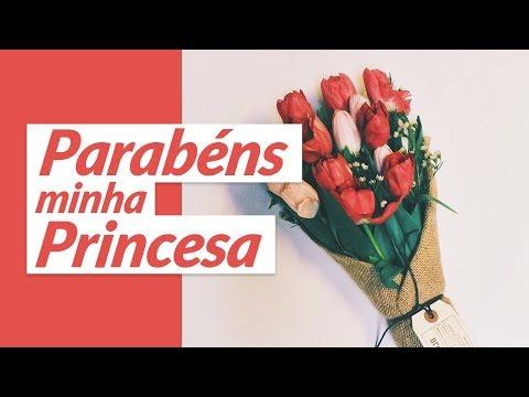 Parabéns, minha princesa