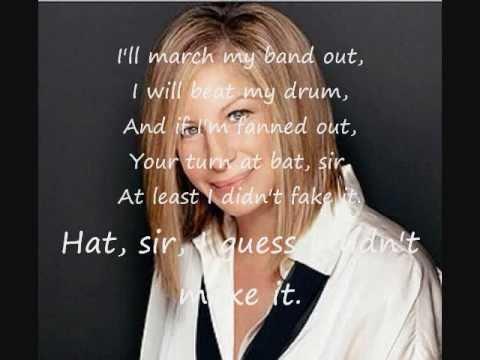 Don't Rain On My Parade - Barbra Streisand FULL LYRICS