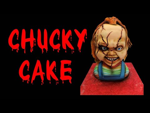 Child's Play Chucky Cake with timelaspe tutorial