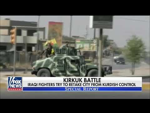 Pro-Iraqi Fighters Clash With Kurdish Troops In Kirkuk