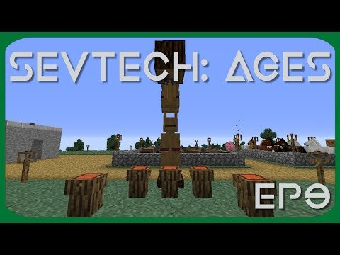 We do a buffalo dance and make a totem pole | SevTech:Ages